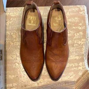 Billy cognac leather boot